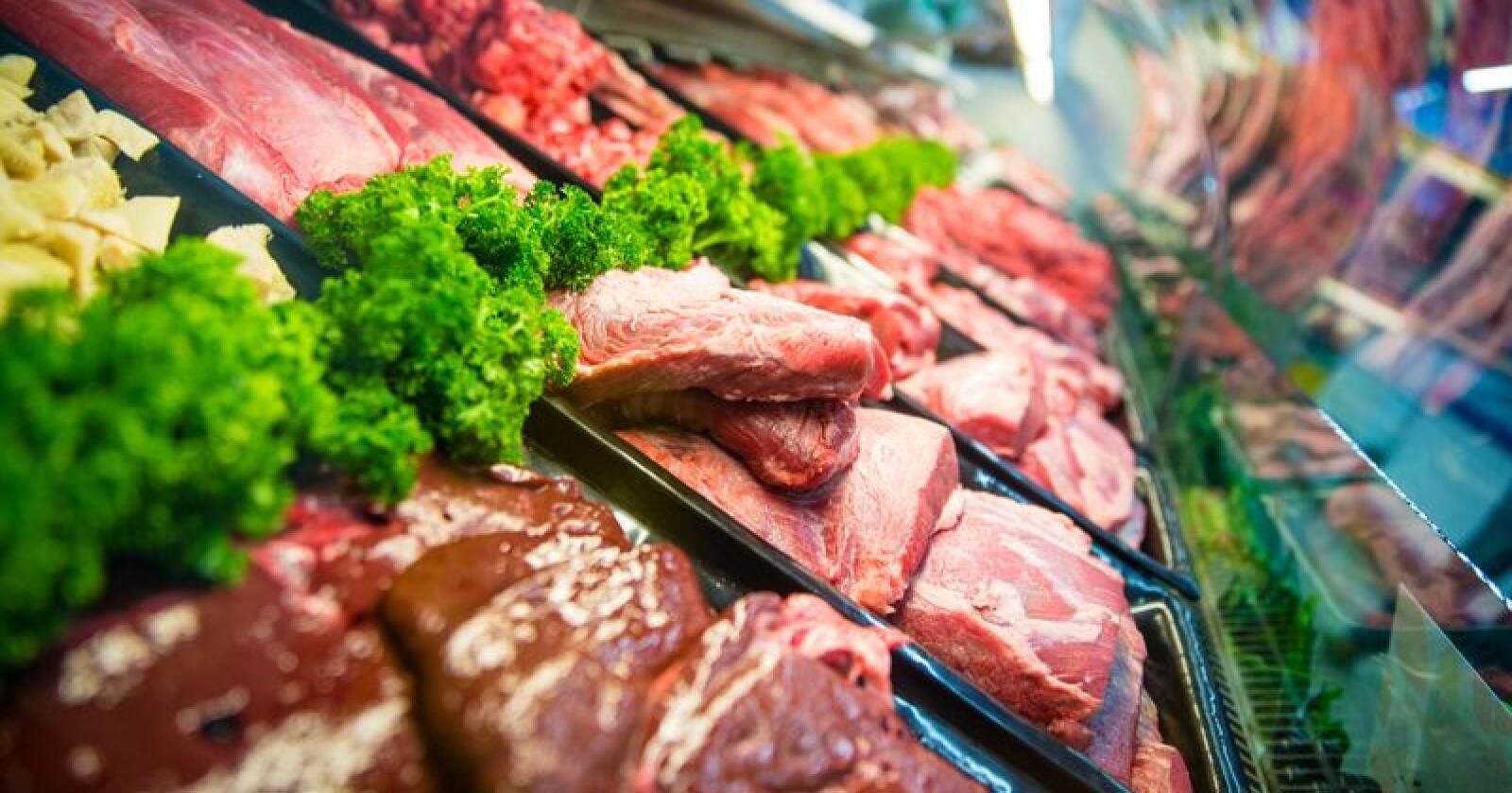Landbruksdirektoratet senker nå tollen på storfekjøtt i fem uker pga underdekning i markedet. Foto: Shutterstock