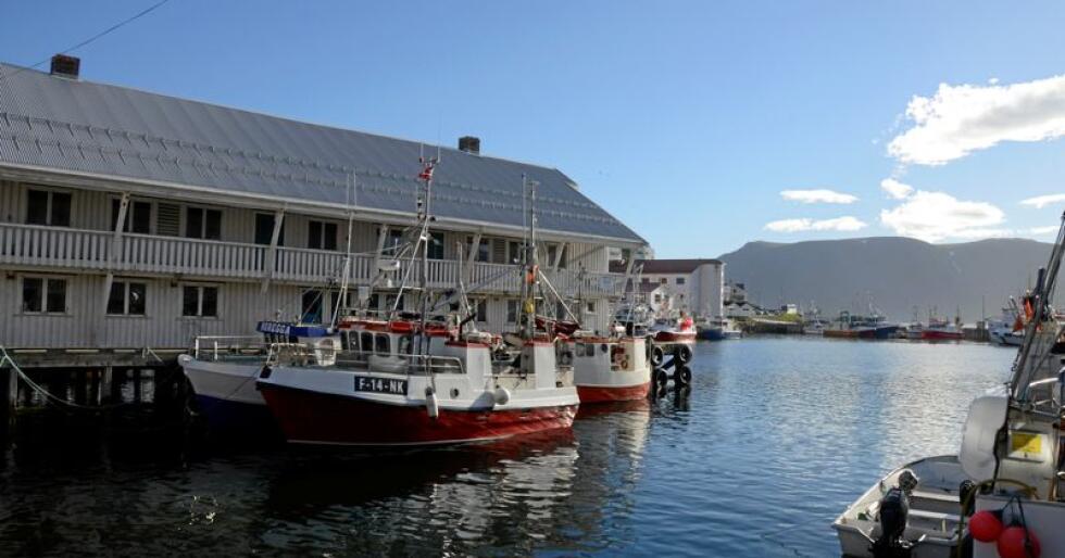Finnmark er det fylket flest vil reise til for å oppleve den lokale matkulturen. Her fra Honningsvåg i Nordkapp kommune. Foto: Mariann Tvete