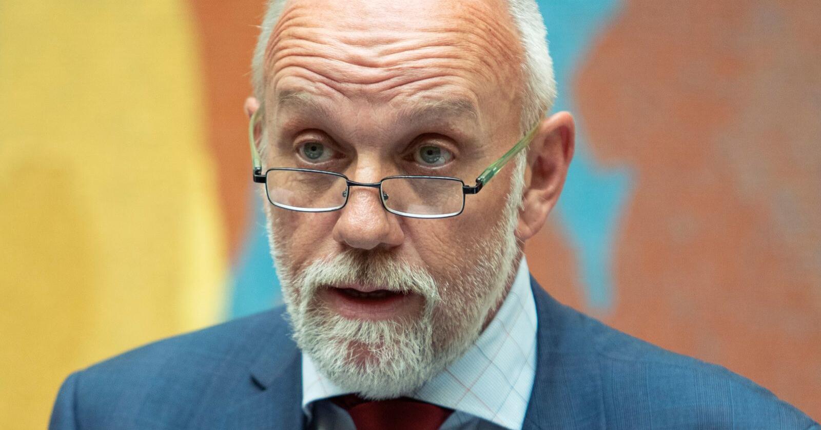 Frps næringspolitiker Morten Ørsal Johansen har den siste tiden holdt helt tett om pelsdyrforhandlingene. Foto: Ryan Kelly / NTB scanpix