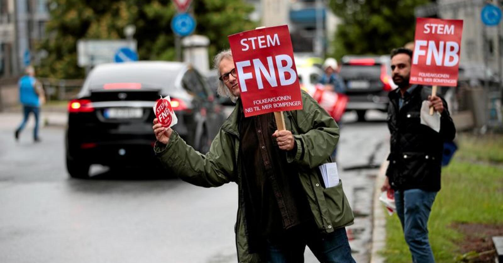 Nytt parti: Bompengepartiet FNB er gode nyheter, skriver innsenderen. Foto: Lise Åserud/NTB scanpix