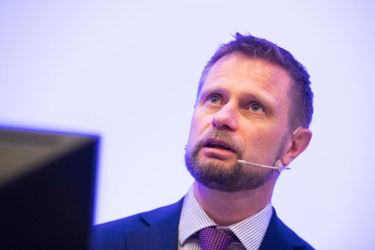 Bent Høie sier at tilbudet ved Odda sjukehus ikke skal reduseres. Det kan likevel bli endringer i organiseringen. Foto: Håkon Mosvold Larsen / NTB scanpix