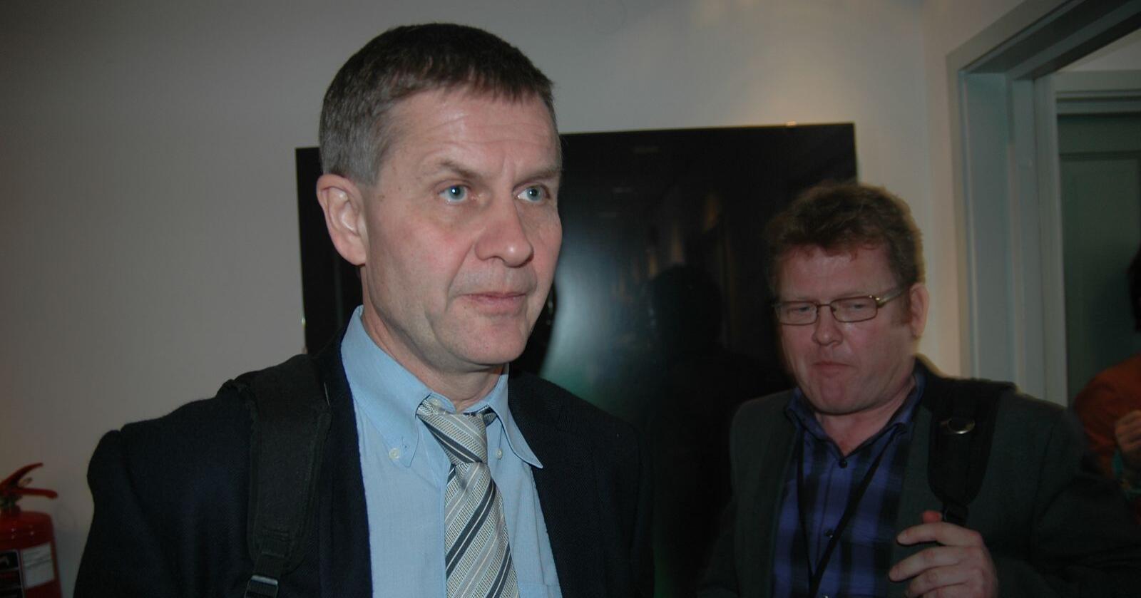 Erik Solheim tror på suksess for ny, norsk og grønn landbruksteknologi. Her er Solheim fra tiden som miljøvernminister. Arkivfoto: Bondebladet
