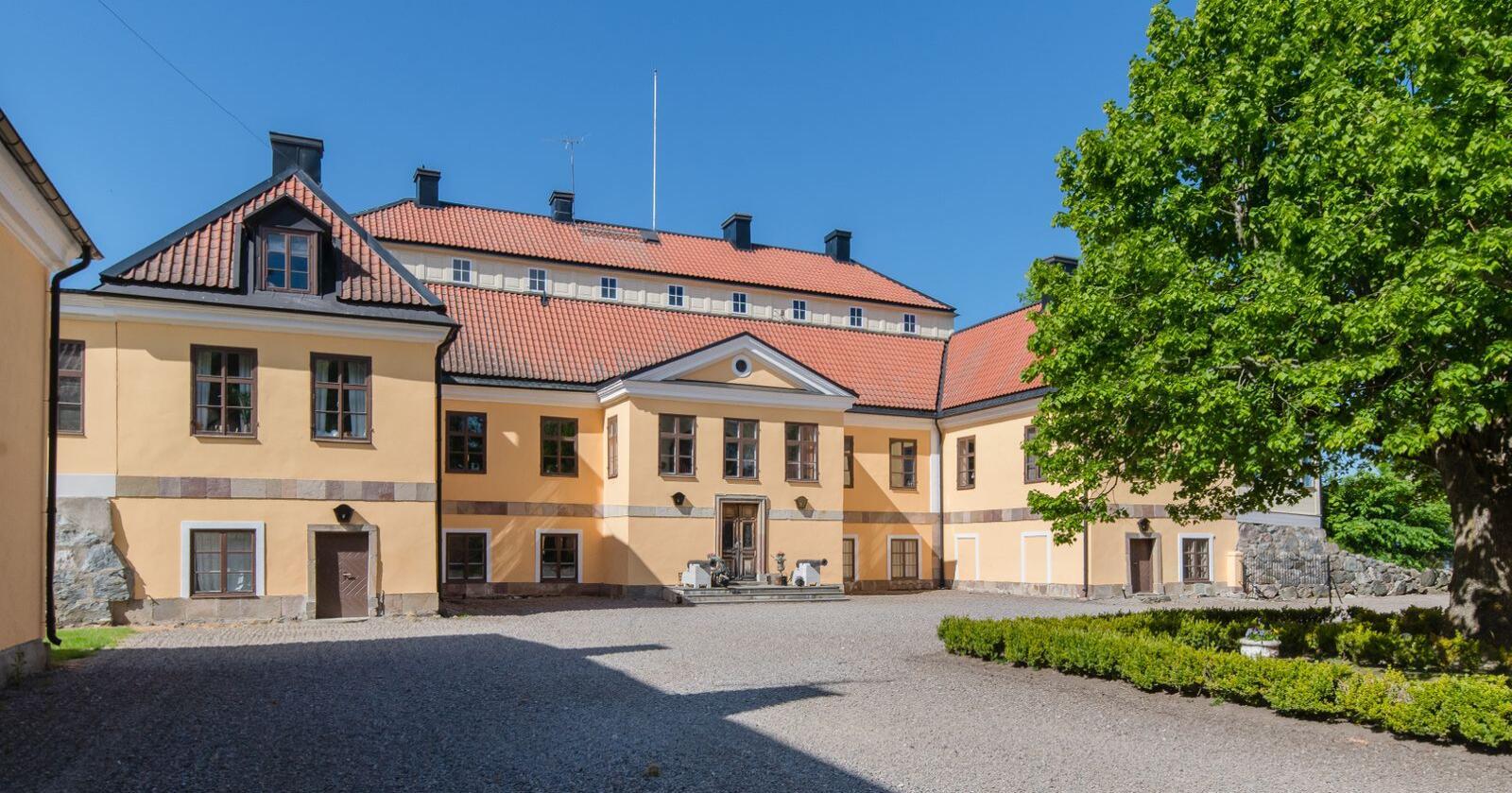 Gimmersta säteri ble nylig solgt til medgründer og viseadministrerende direktør i spillselskapet Embrace. Foto: Karl Danielsson Egendomar