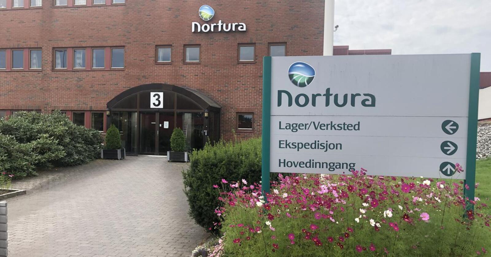 Ved å plassere griseslaktingen i Tønsberg, vil en ikke blokkere for videre utvikling av Rudshøgda som storfe og småfeanlegg, skriver Nortura. (Foto: Nortura)