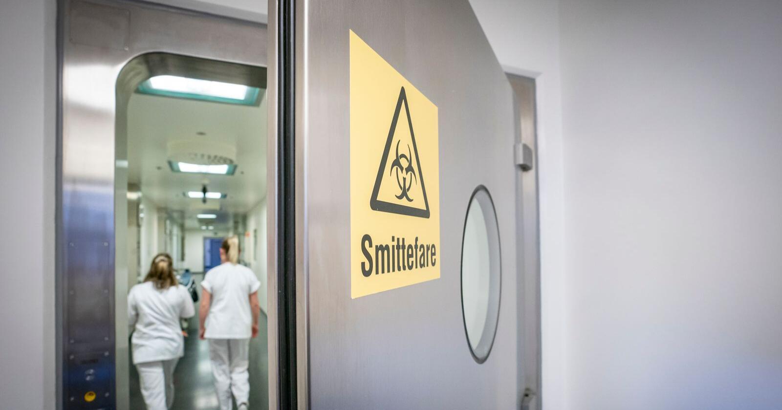 Smittede nordmenn vil kunne endte på isolatposten på Ullevål sykehus. Foto: Heiko Junge / NTB scanpix