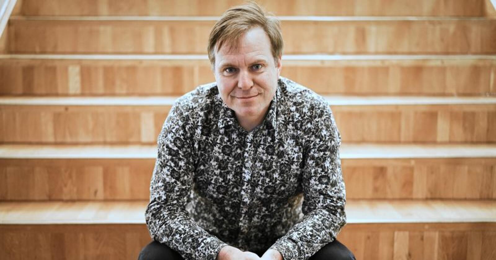 Alfred Bjørlo trekkes fram av flere som en kandidat til å gå inn i ledertrioen i Venstre. Foto: Benjamin Hernes Vogl