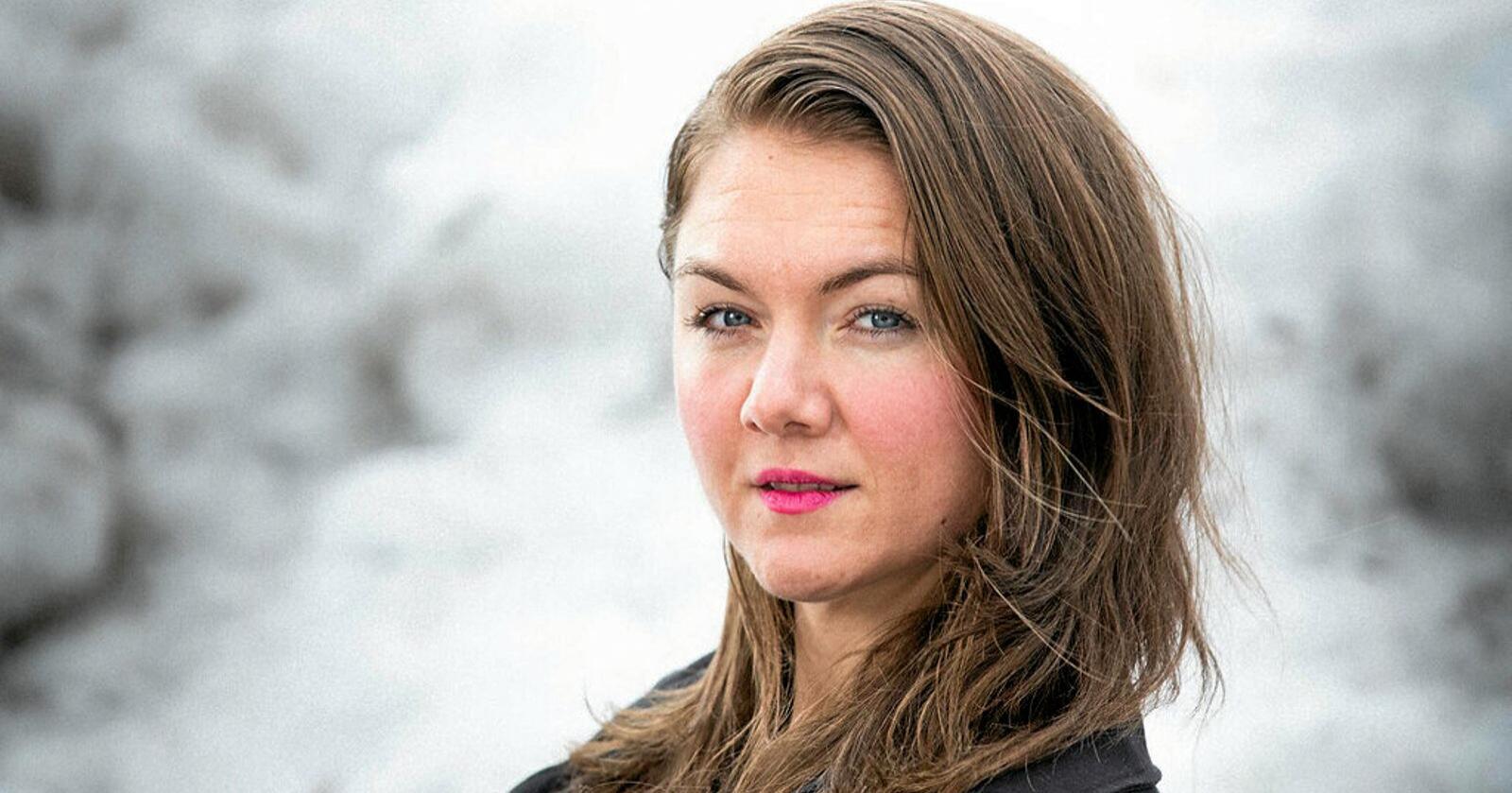 Sigrid Heiberg, leder i Oslo MDG håper på flere norske hender i landbruket. Foto: Miljøpartiet de Grønne
