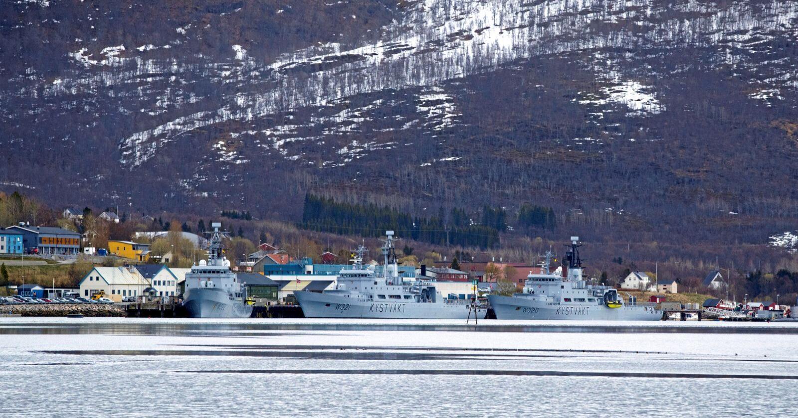 Forsvar: Vi må ha reell kontroll i kystsonen, skriver innsenderen. Foto: Heiko Junge / NTB scanpix