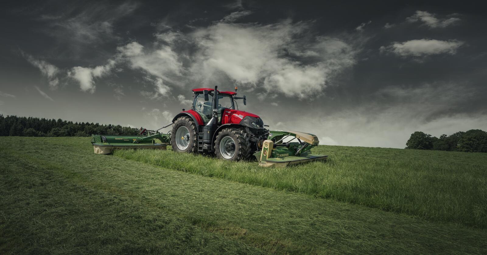 AFS: oppdaterte Case IH Optum er blant produktene Case IH gleder seg til å vise fram til publikum på landbruksmesser rundt omkring i europa.