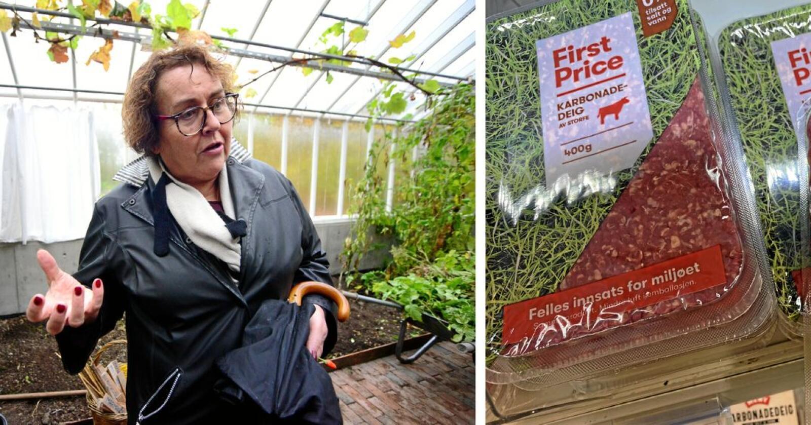 Landbruks og matminister Olaug Bollestad (Krf) har fått nok av mat som er dårlig merket. Foto: Siri Juell Rasmussen/Alexander Gjermundshaug