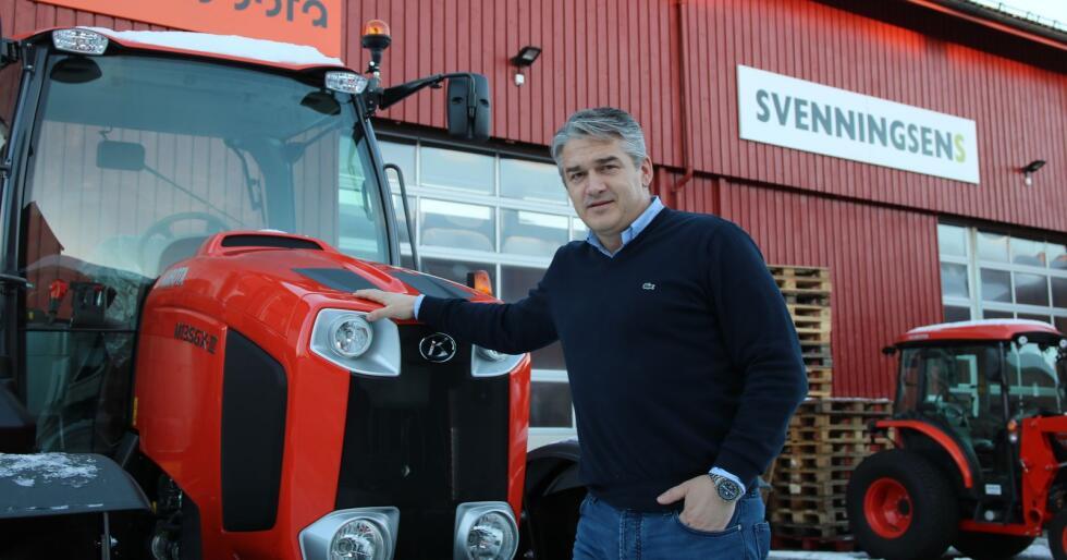 Kjetil Nilsson er daglig leder i Svenningsens Maskinforretning. (Arkivfoto)