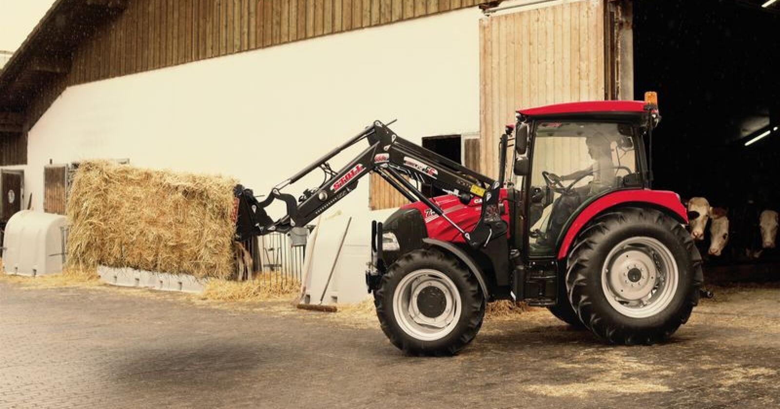 Finalist: Case IH Farmall 75 A er en av finalistene i kategorien Best Utility. Alle foto: Tractor of the Year.