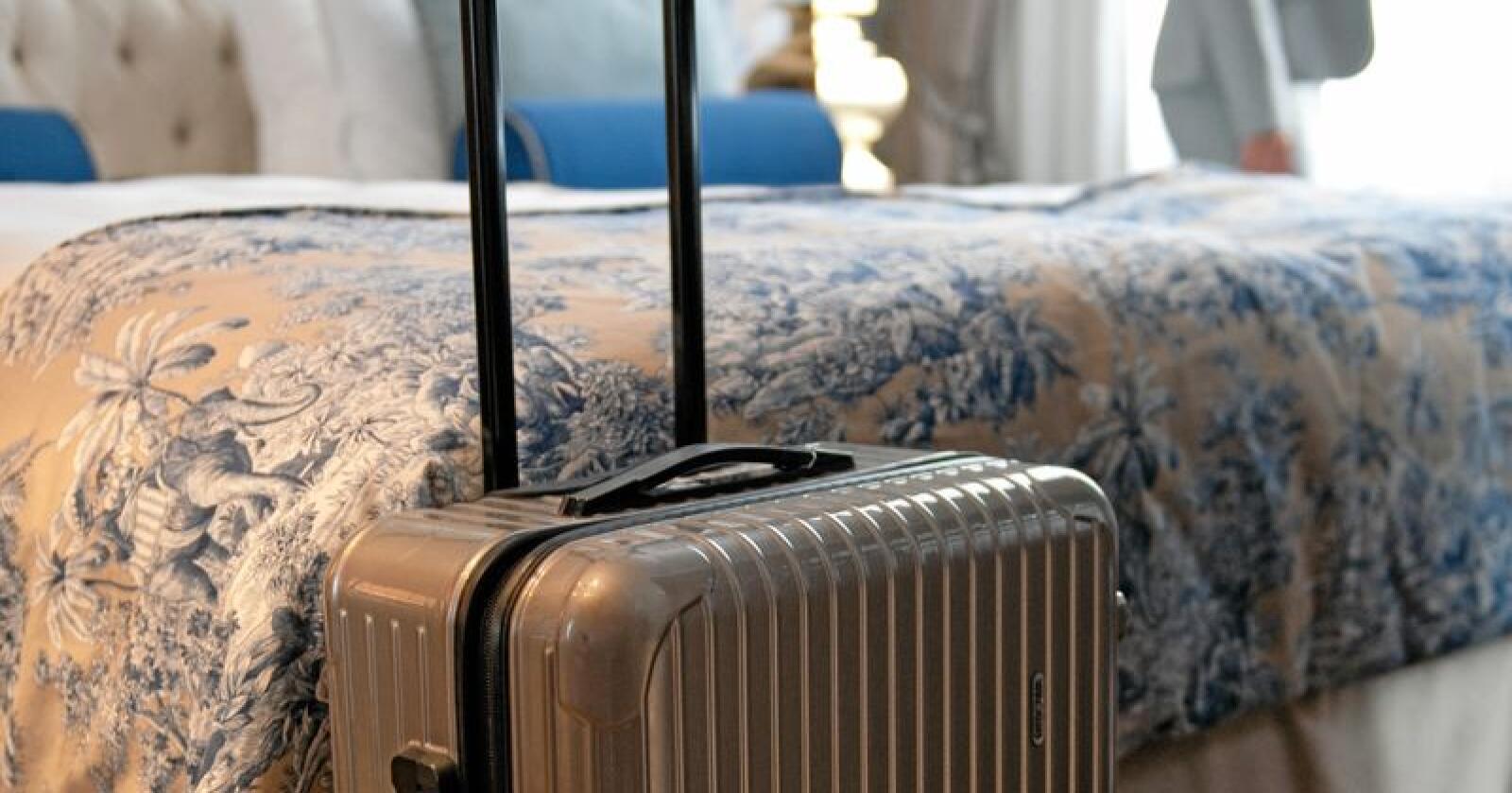 I april var det 1,6 millionar overnattingar ved norske hotell. Foto: Jan Haas / NTB scanpix / NP