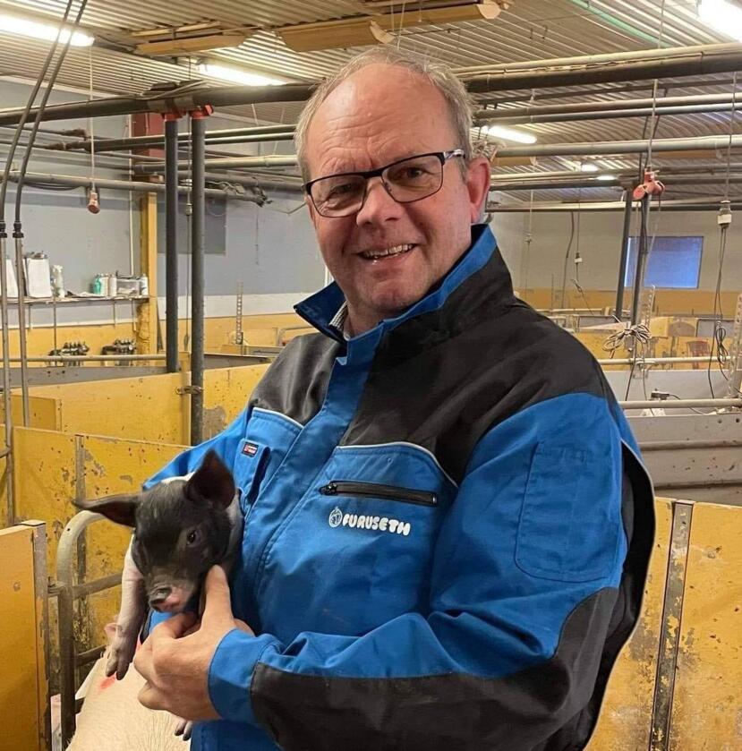 Knut Haugland er smågrisprodusent i Bø i Telemark. Han mener svinebønder må stå opp for seg selv etter avsløringene i næringen den siste tiden. Foto: Privat