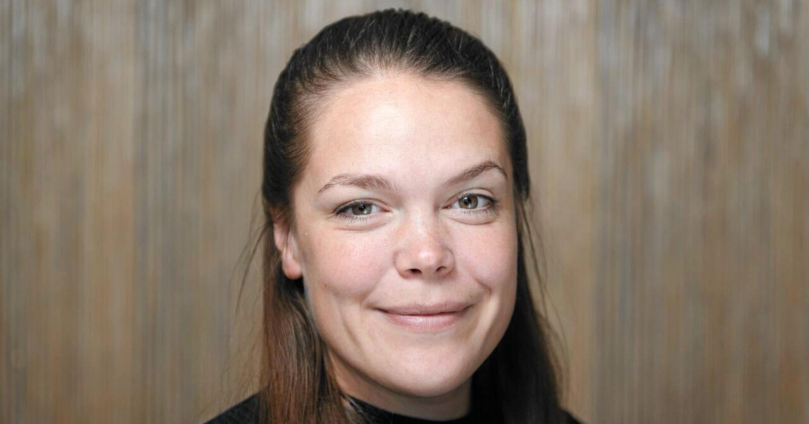 Vilde Haarsaker, ny assisterende generalsekretær i Norsk Bonde- og Småbrukarlaget. Foto: Småbrukarlaget