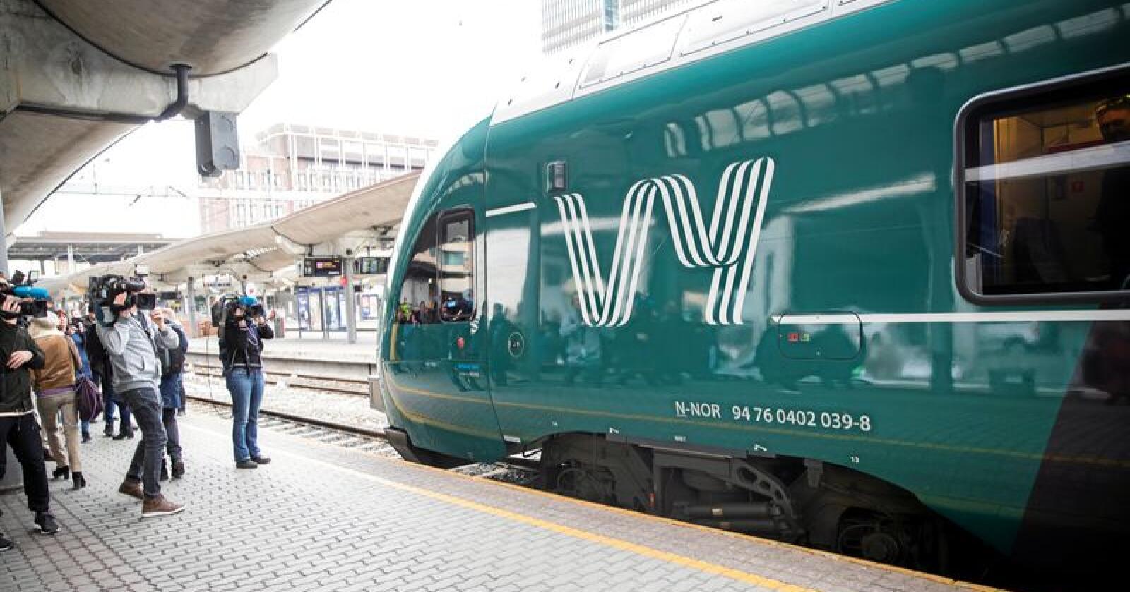 Dyrt: Det er dyrt byggje ut toglinjer. Foto: Berit Roald / NTB scanpix