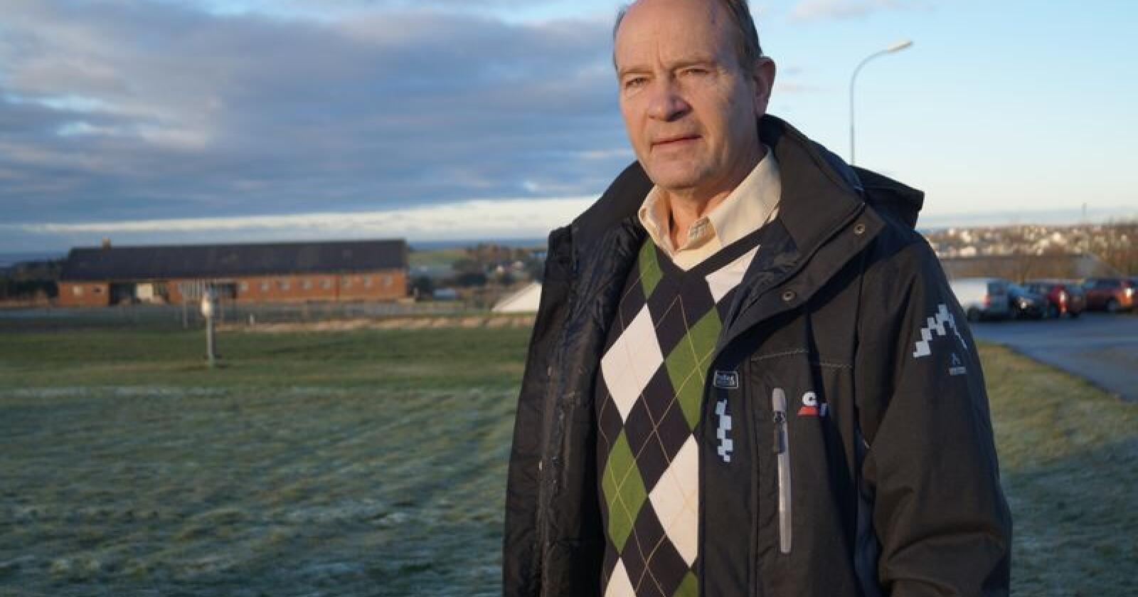 Leder Olaf Gjedrem i Jordvernforeningen i Rogaland. (Foto: Sjur Håland/ Bondevennen)