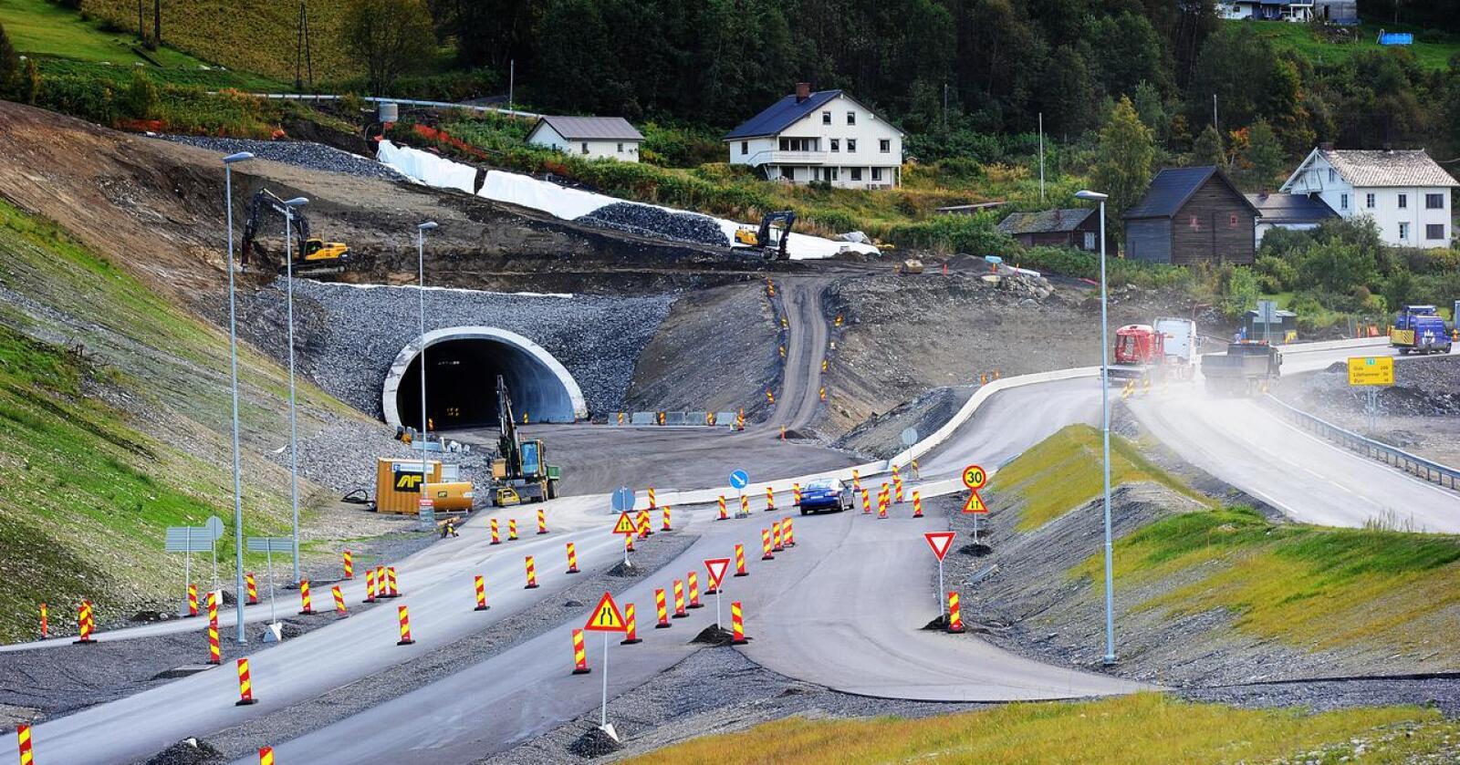 Bygging løser ikke alt: Vi må ta ned transportmengden. Foto: Siri Juell Rasmussen