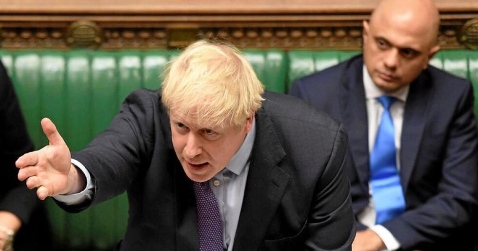 Brexit: Boris Johnson å presse gjennom en utmeldingsavtale ingen egentlig vil ha, skriver Knut André Sande. Foto: Jessica Taylor / UK Parliament / AP / NTB scanpix