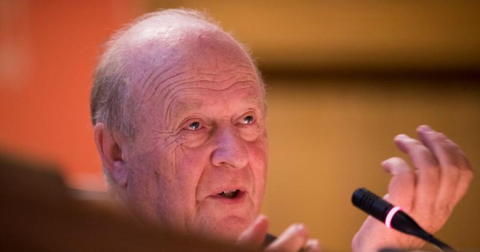 Tidligere partileder Odd Einar Dørum mener bredden i politikken eller viljen til å drive distriktspolitikk ikke er svekket i Venstre. Foto: Terje Pedersen / NTB scanpix