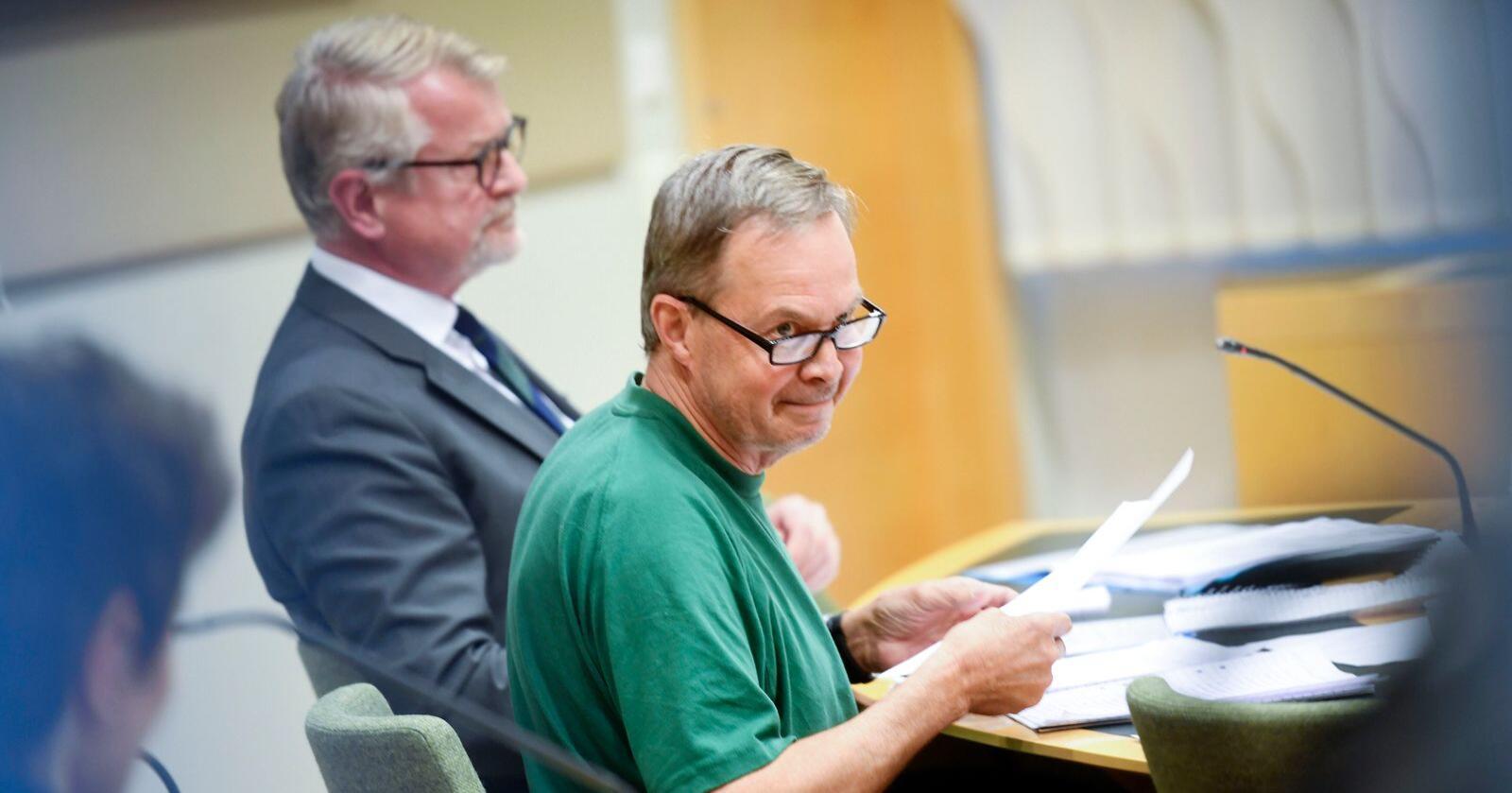 Karl Hedin ble varetektsfengslet i 2018, etter mistanke om ulovlig ulvejakt. Foto: Fredrik Sandberg / TT