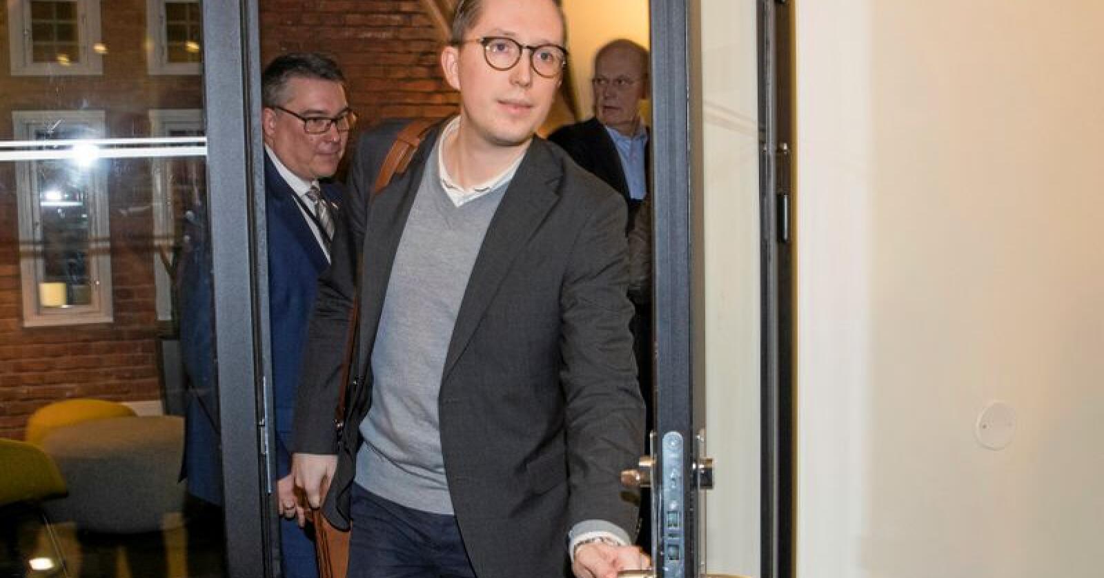 – Jeg kommer ikke til å søke renominasjon til Stortinget, sier Kristian Tonning Riise. Foto: Håkon Mosvold Larsen / NTB scanpix