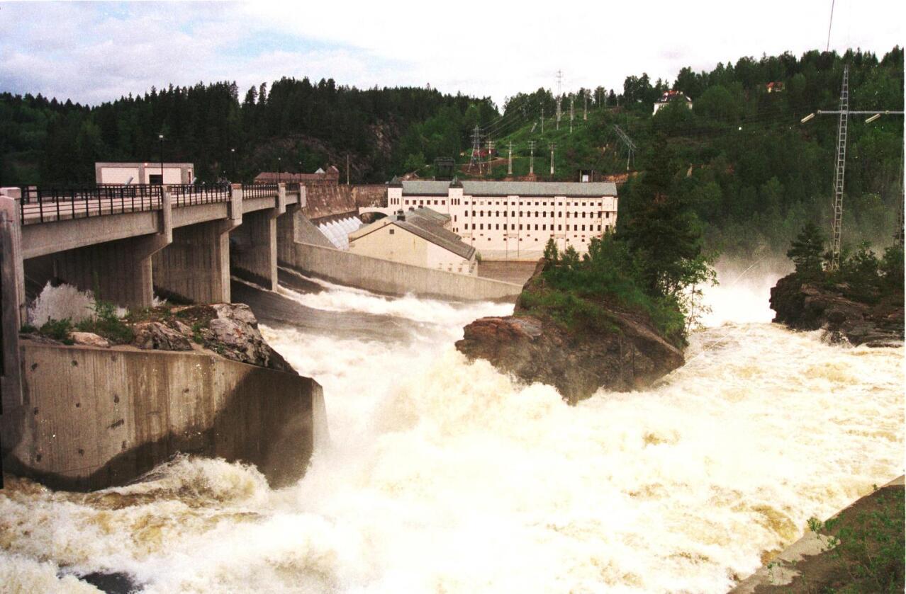 Beredskap: Flere kraftutbygginger i Hedmark vil dempe flom. Foto: John Stenersen.
