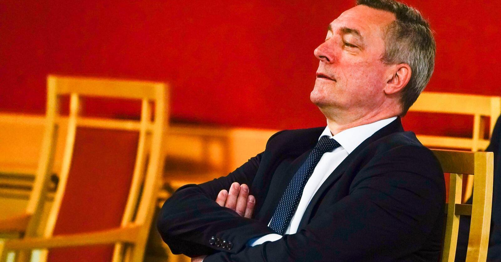 Forsvarsminister Frank Bakke-Jensen. Foto. Lise Åserud/NTB