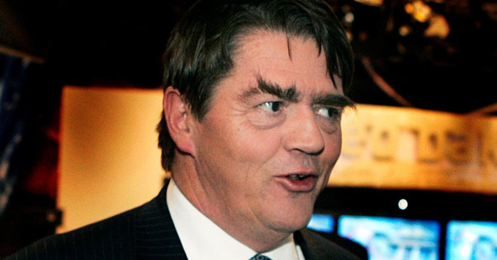 Aksjeforvalter: Jan Petter Sissener gir pengestøtte til Oslo Senterparti og vil ha Høyre-samarbeid for pengene. Foto: Knut Falch / NTB