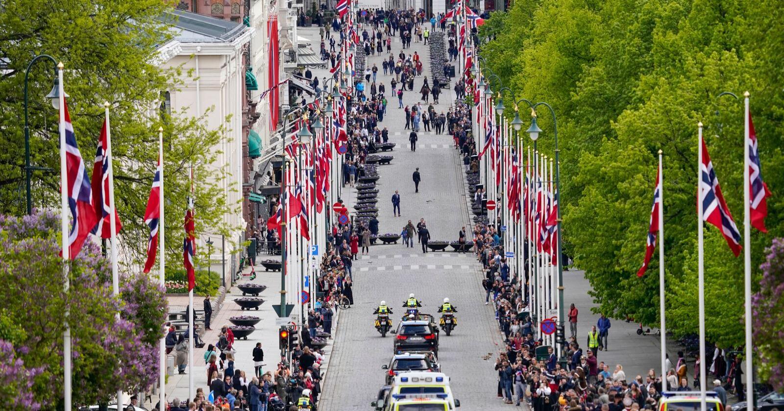 Intet tog: 17. maifeiringen i fjor var preget av unntakstilstand. Foto: Lise Åserud / NTB