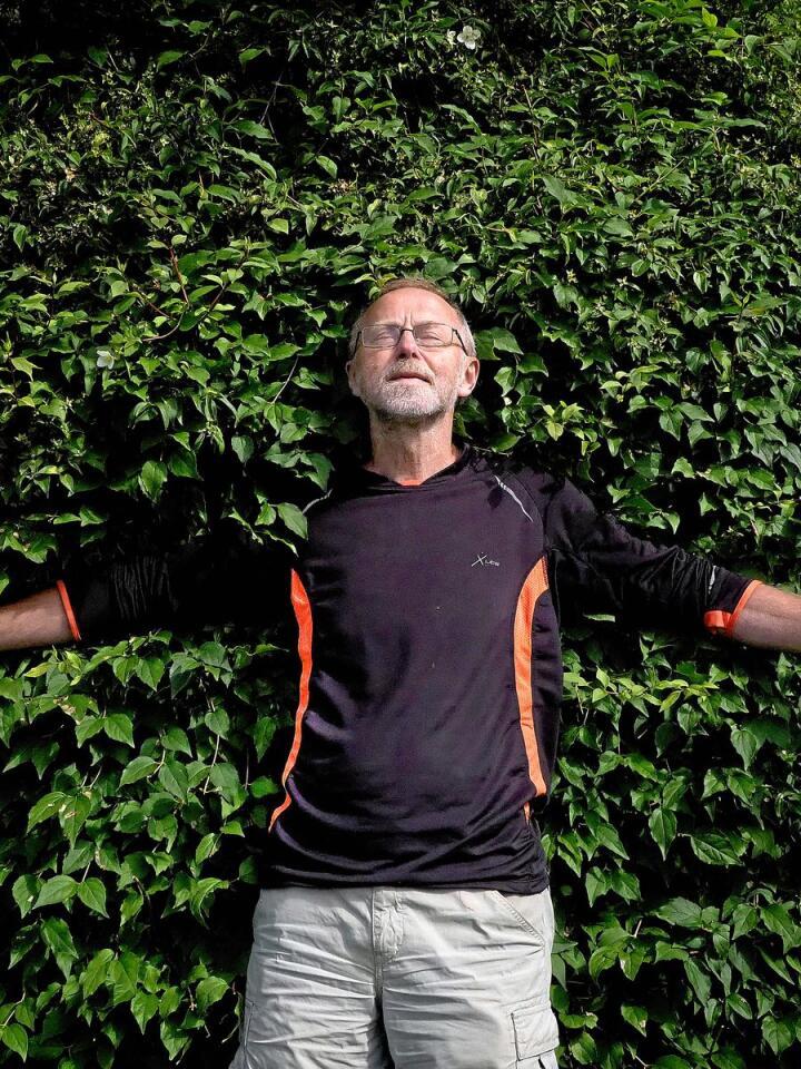 Når man blir 66 kan man gjøre som man vil. Epoken som pensjonist er i full gang. Foto: Siri Juell Rasmussen