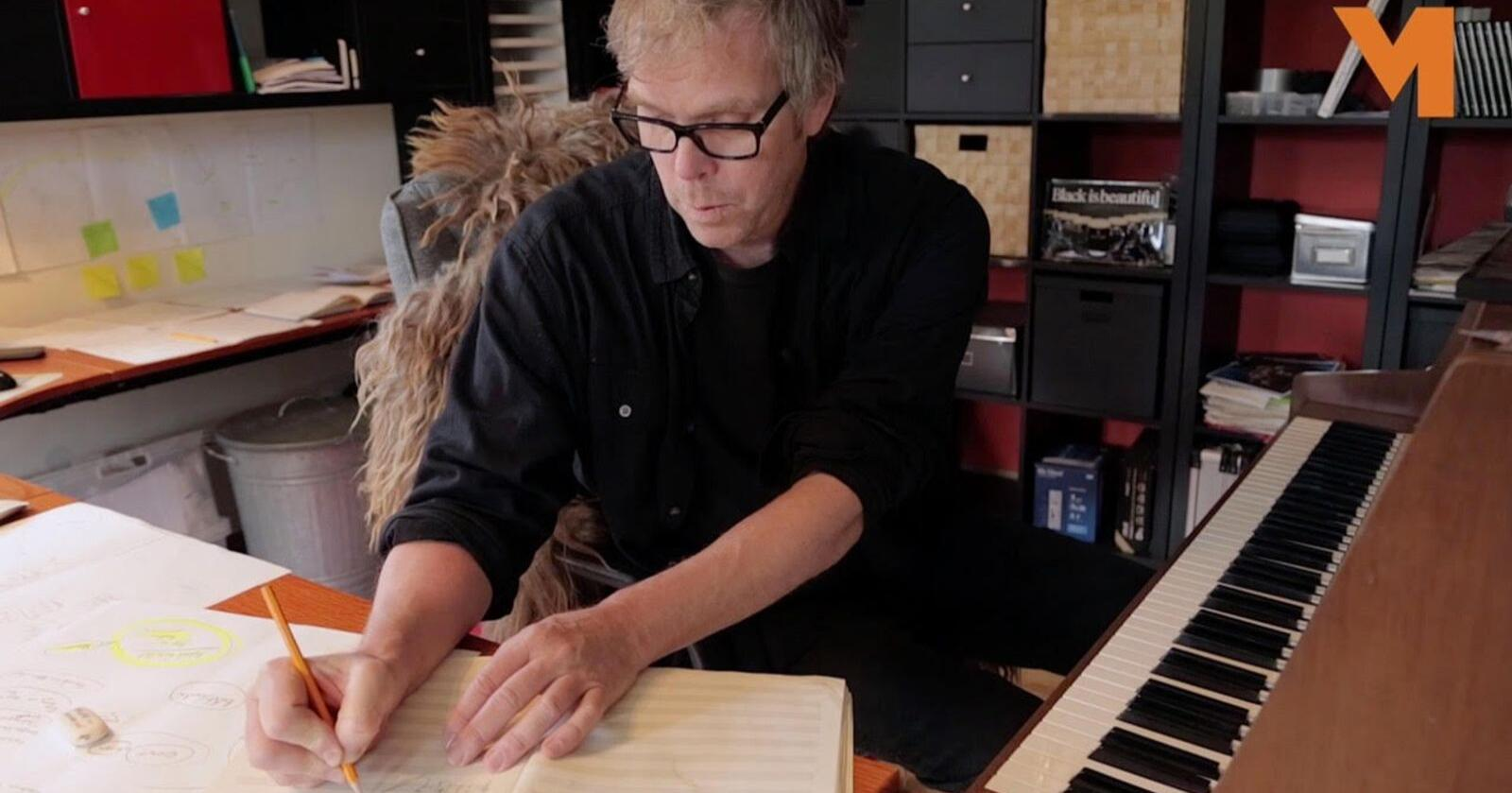 Glenn Erik Haugland er komponist av yrke, og initiativtaker til festivalen TronTalks i Alvdal. Foto: Vidar Langedal.