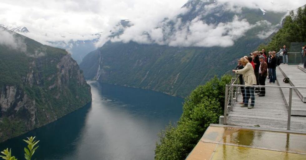 Systematisert: Geiranger og Nærøyfjorden er verdensarv og regionalpark. Foto: Bjarne B. Aase