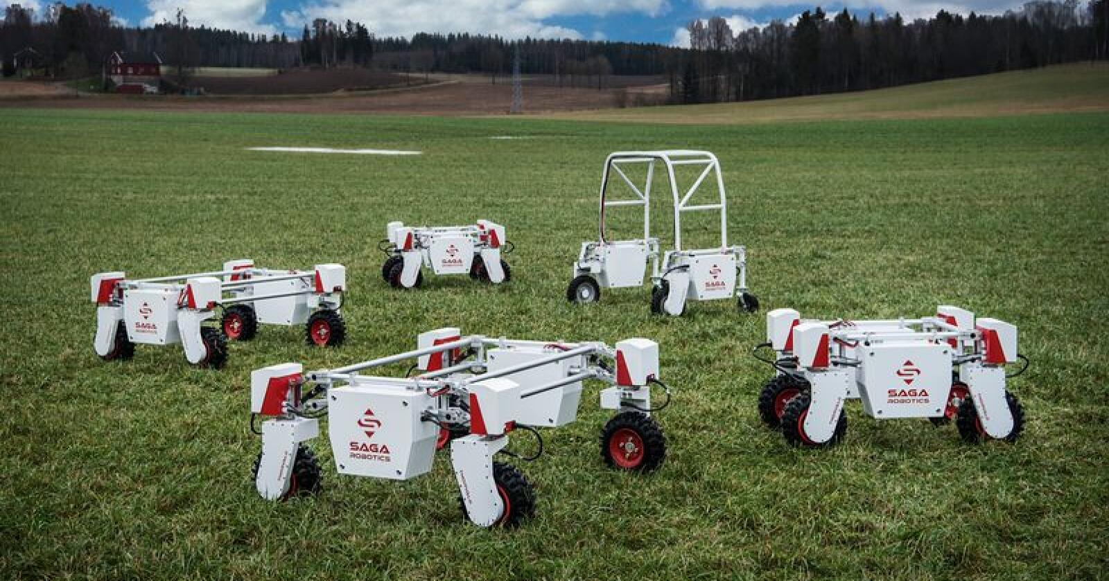 Saga Robotics vant i kategorien beste FoodTech/Agritech Startup. (Foto: Benjamin A. Ward, Saga Robotics)