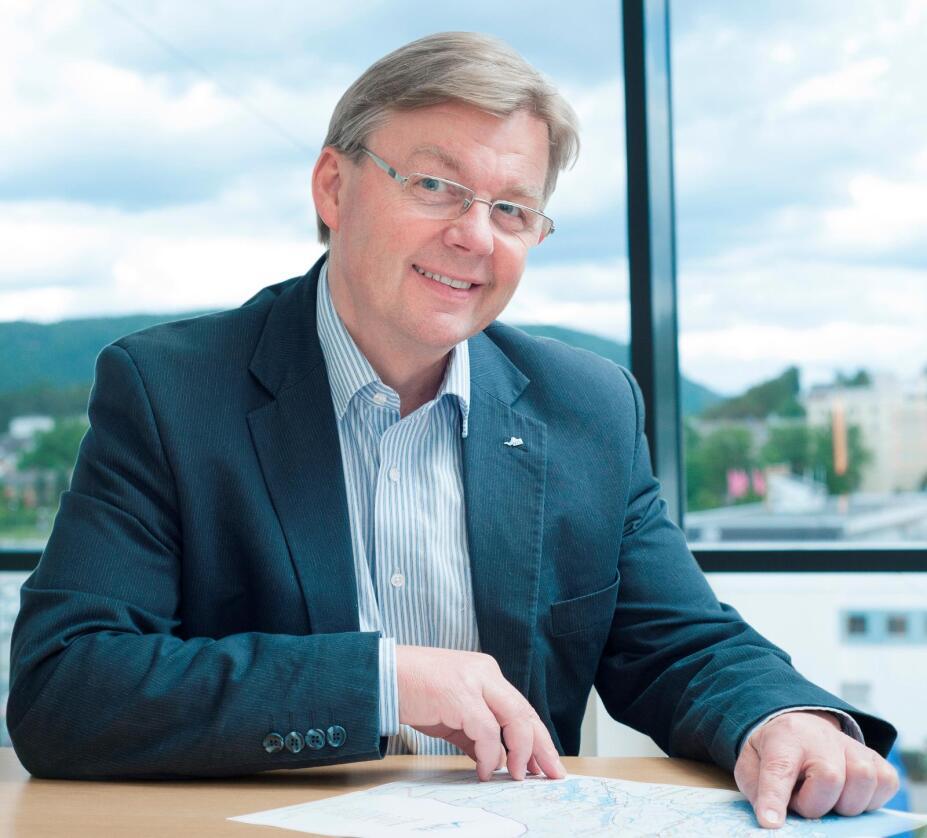 – Vi legger nå grunnlaget for virksomheten i Oslo og jeg har store forventninger, sier Harald Lein. (Foto: Bygdeforskning)