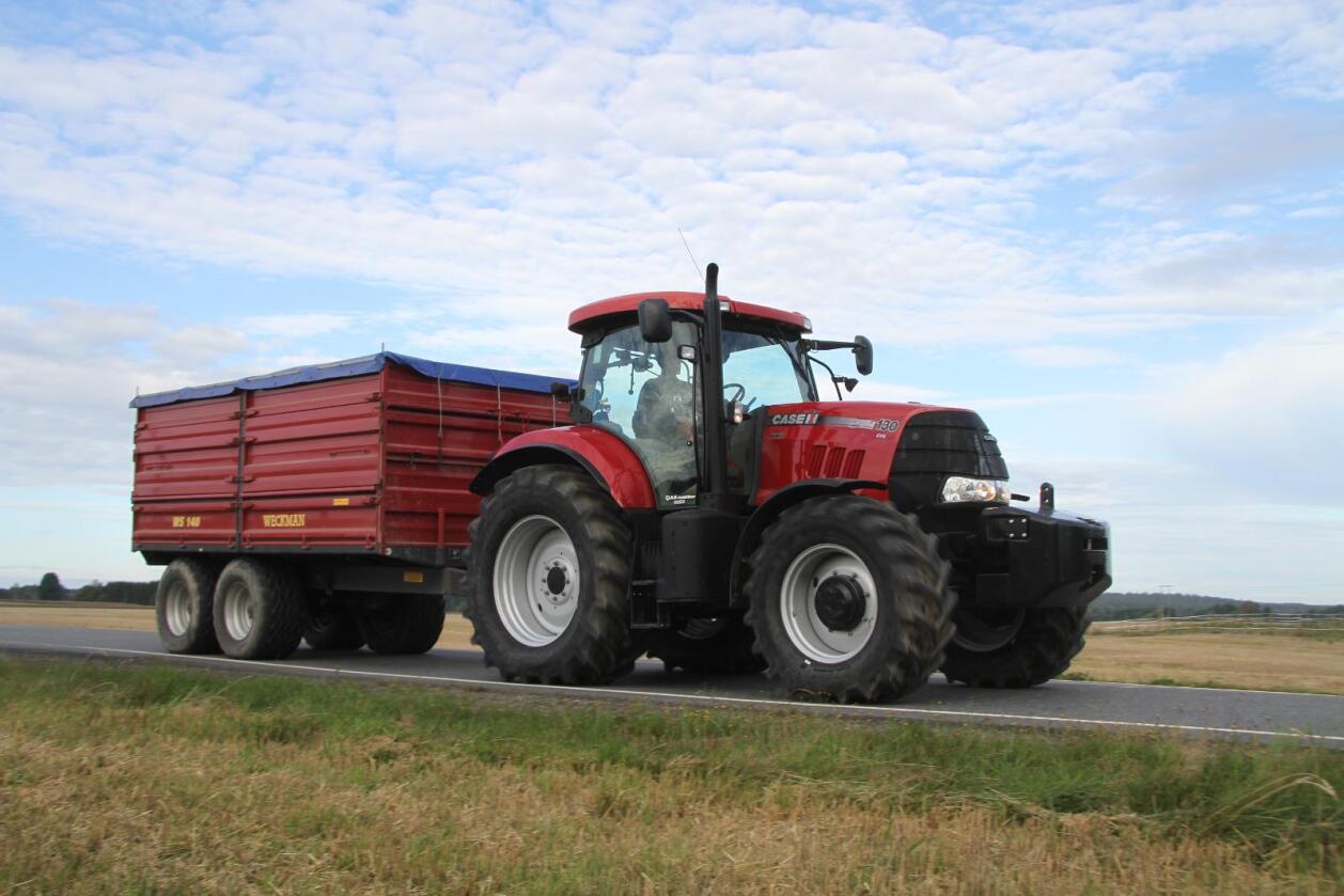 Weckman har etter flere år som nummer to, klatret til topp i registreringsstatistikken for traktorhengere. (Foto: Espen Syljuåsen)