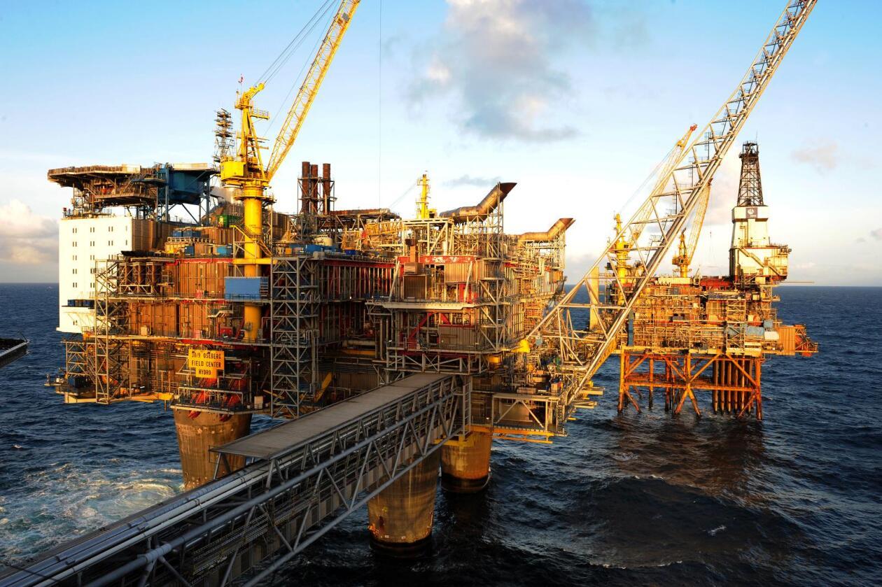 Konsernsjefene i seks store oljeselskaper innrømmer klimaansvar i et felles brev til europeiske aviser. Foto: Bilder viser Oseberg-feltet i Nordsjøen. Foto: Marit Hommedal / NTB scanpix