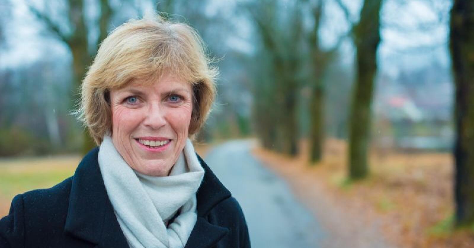 Ny styreleder: Det faktum at jeg ikke er potetprodusent, men likevel er valgt som styreleder for Hoff SA ser jeg på som en tillitserklæring», sier Hanne Refsholt. (Foto: Vidar Sandnes)