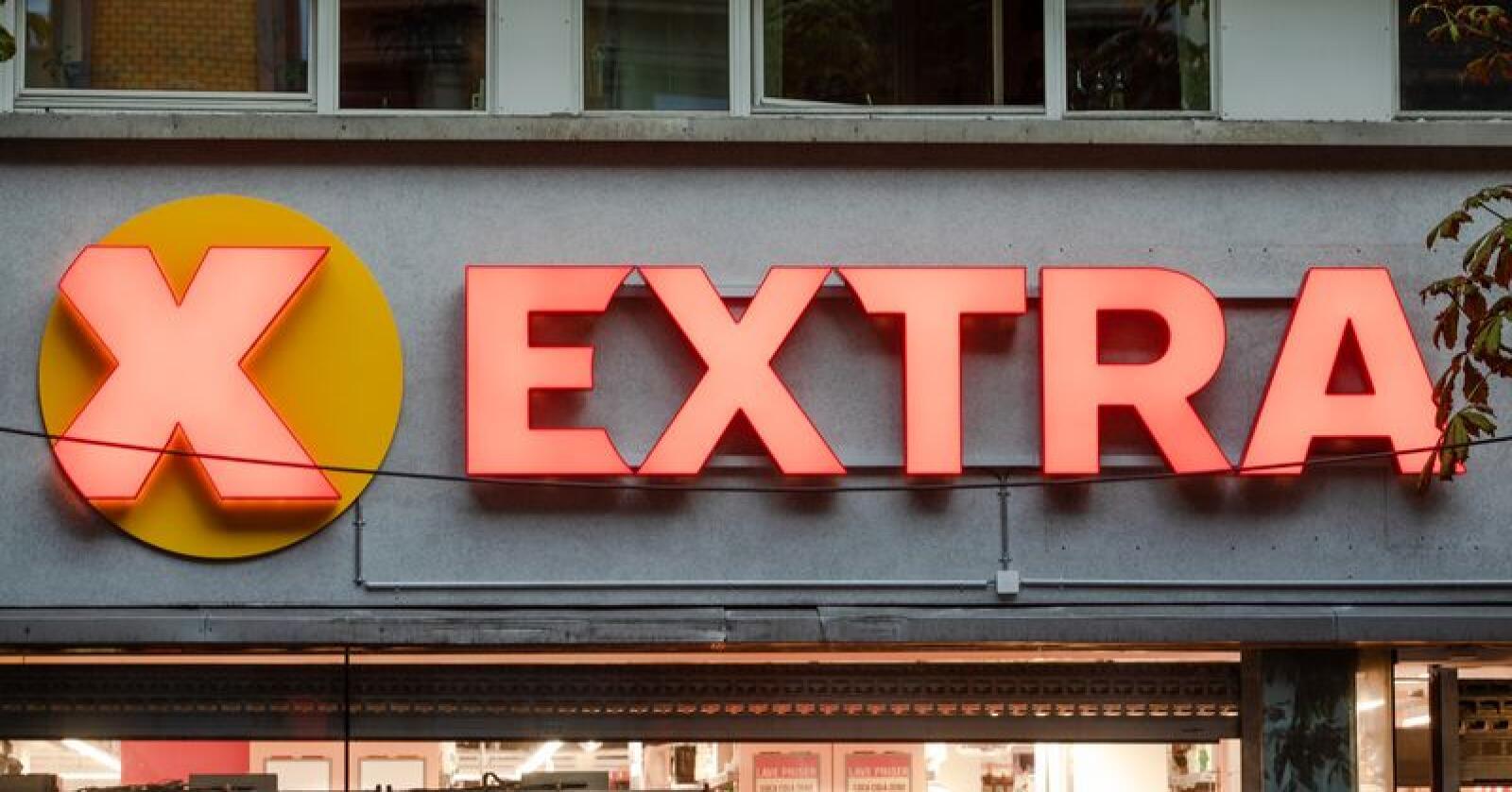 Coop Extra tar markedsandeler fra andre butikker og øker også salget av egne merkevarer. Foto: Audun Braastad / NTB scanpix