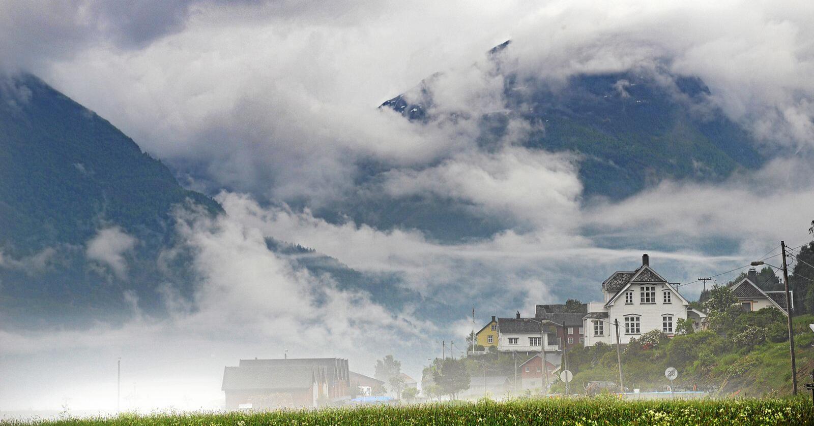 Distrikt: Sentralisering kan utfordre spredt bosetting, skriver innsenderne. Foto: Siri Juell Rasmussen