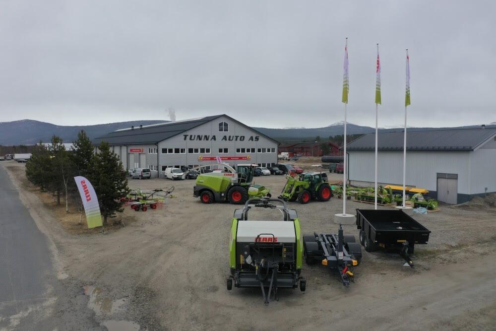 Claas: CF  Maskin Tunna Auto AS skal selge og serve Claas maskiner fra sitt hovedkvarter på Tynset i Østerdalen.
