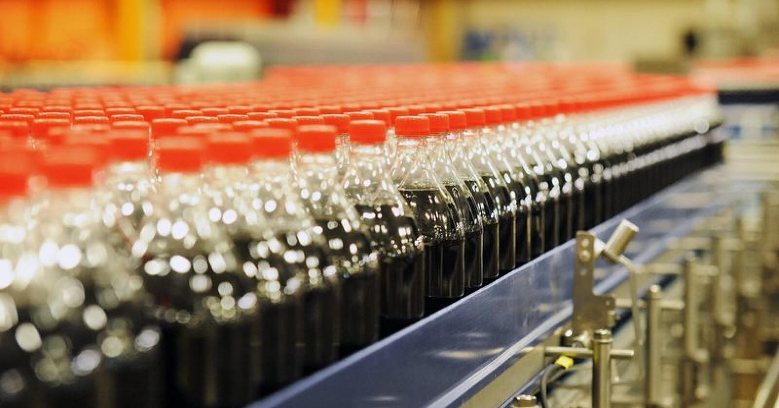 Bryggeri- og drikkevareforeningen har tidligere gitt uttrykk for håp om kutt i avgiften slik at norsk brus blir billigere. Foto: Siri Juell Rasmussen
