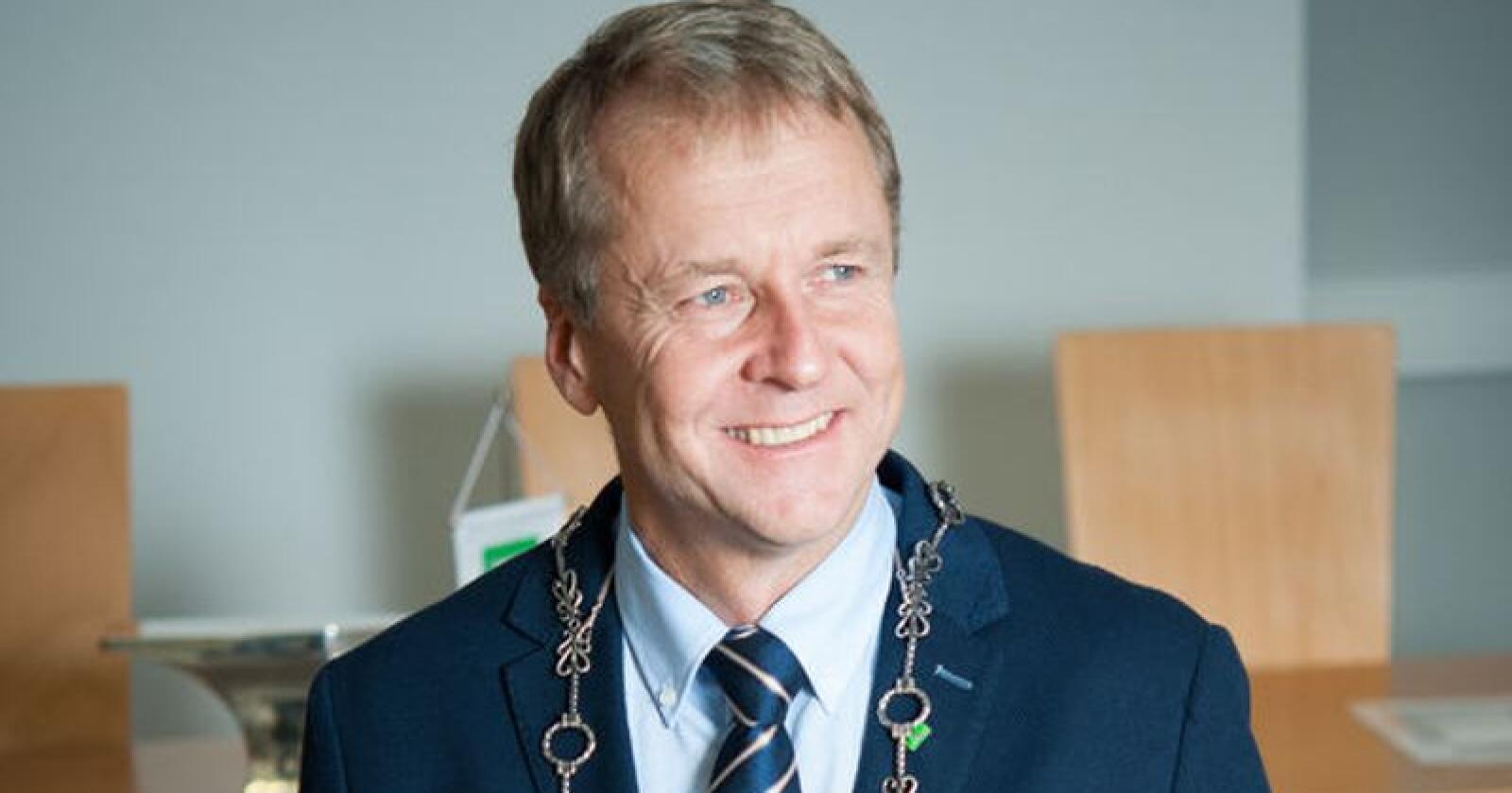 Senterpartiets Saxe Frøshaug blir trolig ordfører i den nye storkommunen Indre Østfold. Han er i dag ordfører i Trøgstad. Foto: Trøgstad kommune