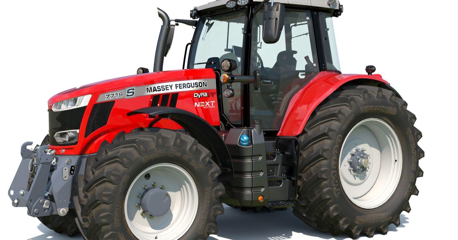 Massey Ferguson MF 7719 S, next edition i tradisjonell MF-rødfarge