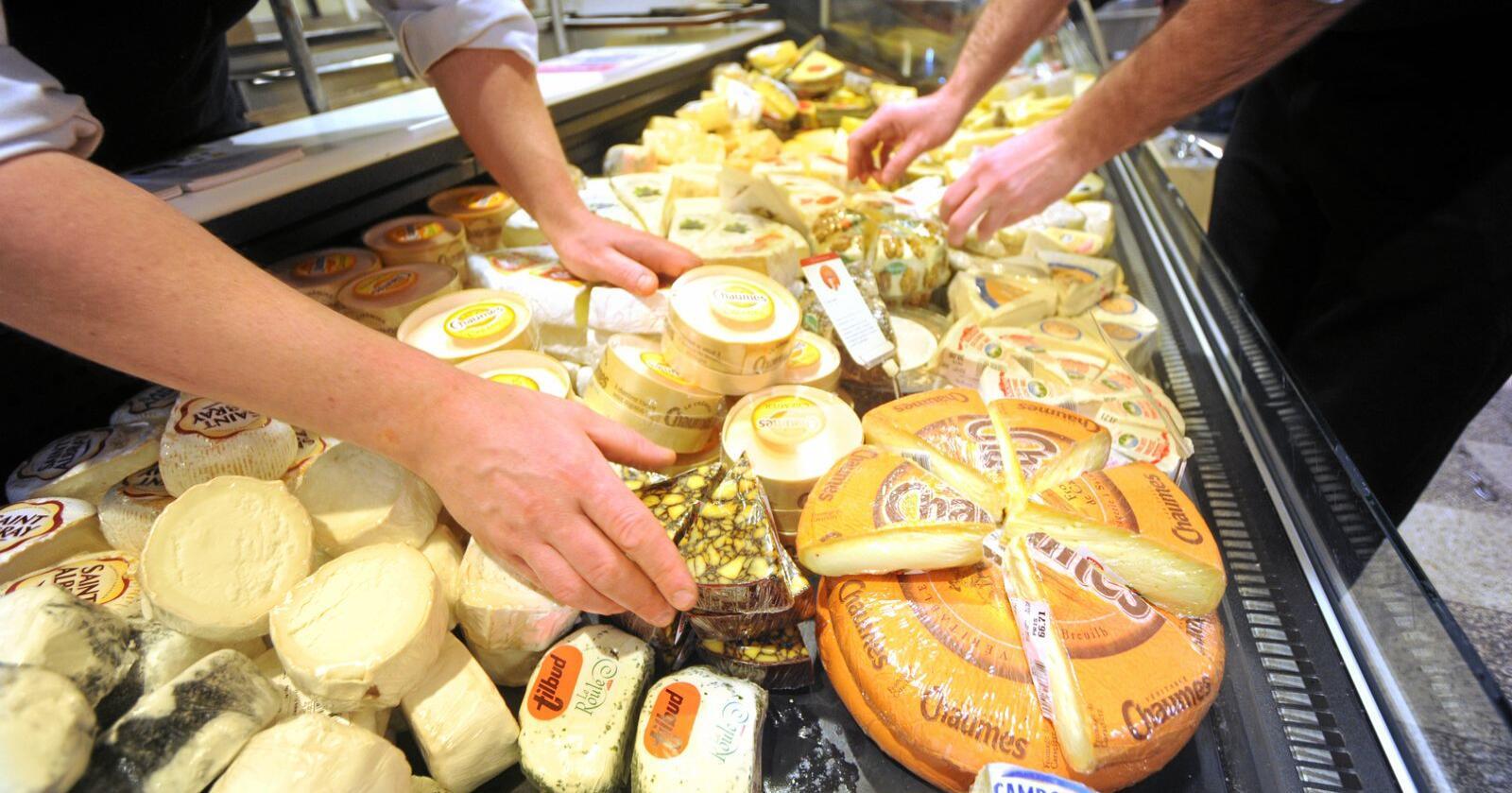 Tine skal ta opp kampen med den importerte osten. Foto: Siri Juell Rasmussen