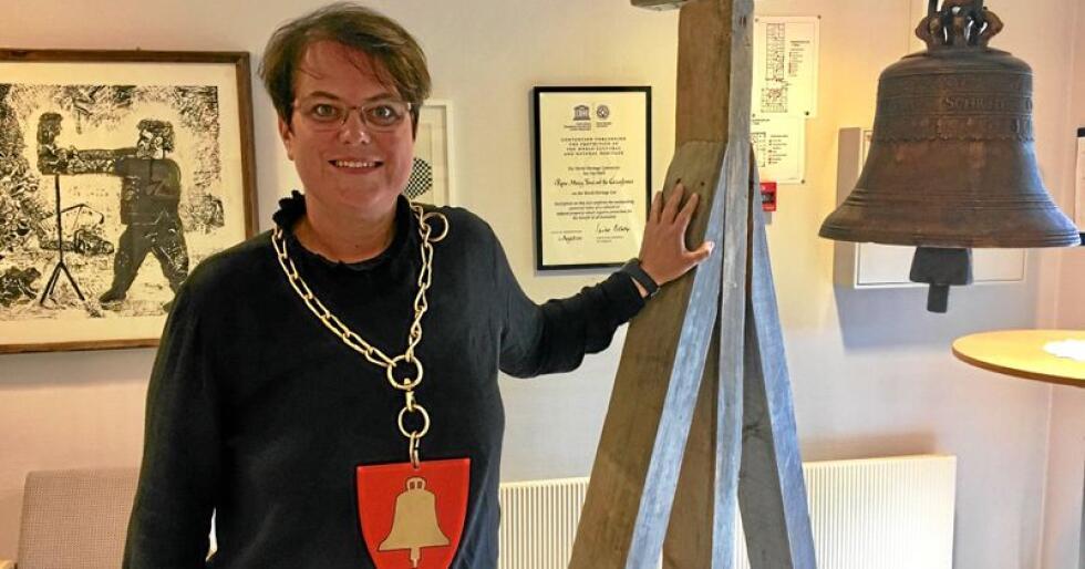 Ringte en bjelle til slutt: Tolga-ordfører Ragnhild Aashaug (Sp) har bedt om unnskyldning. Foto: Privat