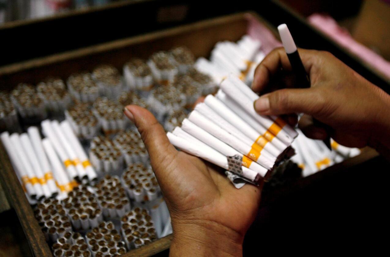 Indonesia er en av verdens største tobakksprodusenter og barnearbeid på plantasjene er utbredt, viser ny rapport. Foto: Reuters / NTB scanpix