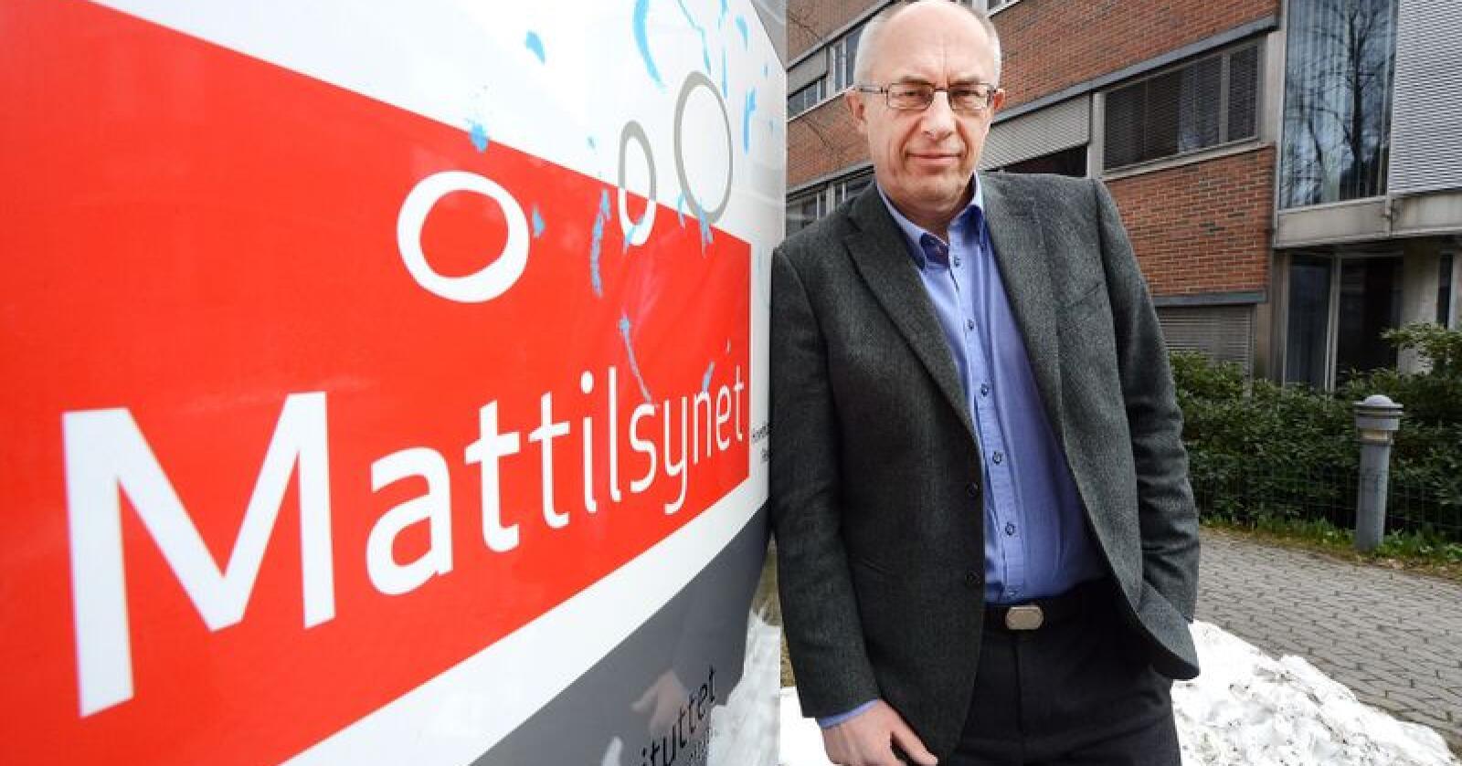 Fratrer: Administrerende direktør Harald Gjein i Mattilsynet. Foto: Siri Juell Rasmussen