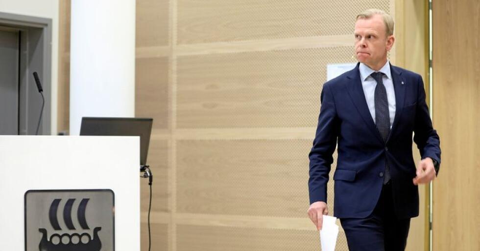 Konsernsjef Svein Tore Holsether i gjødselselskapet Yara. Gorm Kallestad / NTB scanpix