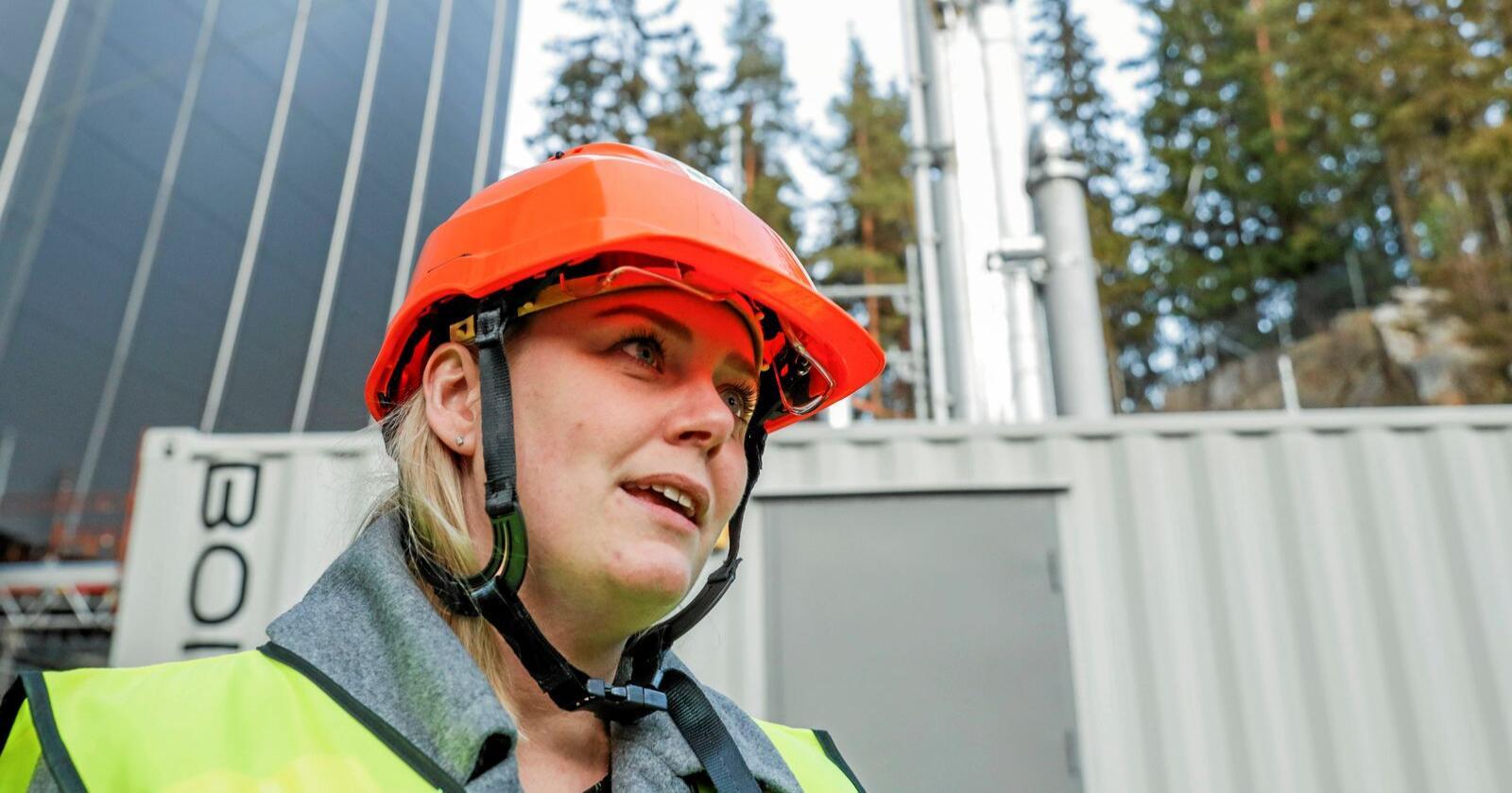 Ikke støtte: NorthConnect: Olje- og energiminister Tina Bru legger NorthConnect-søknaden på is. Foto: Terje Bendiksby / NTB scanpix